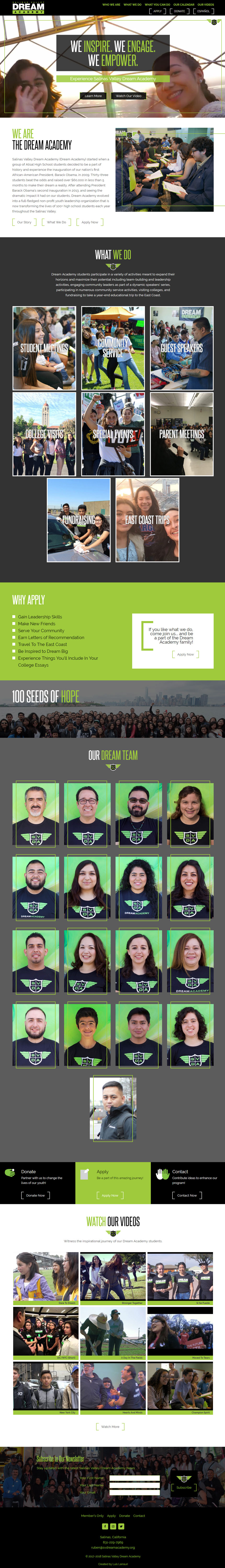 Salinas Valley Dream Academy - Home Page